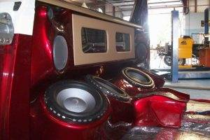 Custom Stereo Box