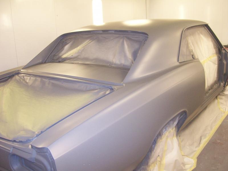 Classic Car Paint Shop