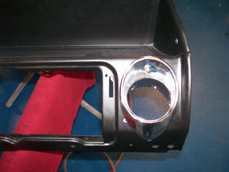 Adding AC Vents to Chevelle Dash
