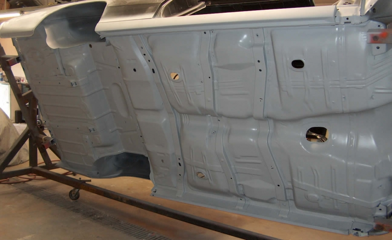 Floor Pan Replacement on Chevelle