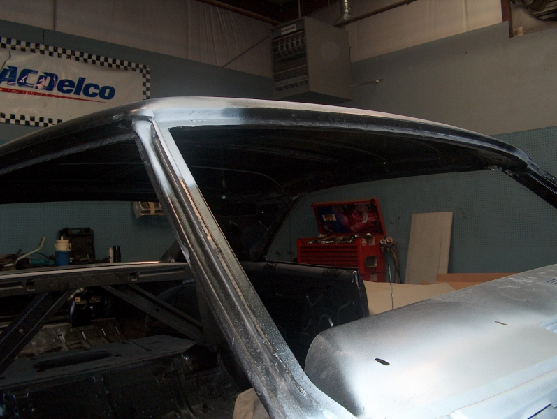 Metal Work on Chevy