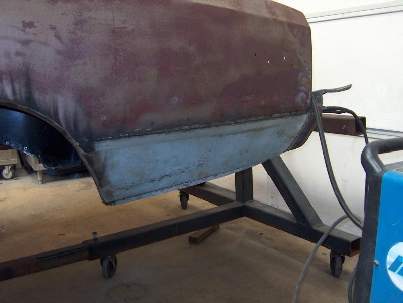 Rear Quarter Panel Repair