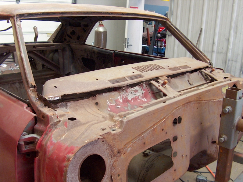 Before Restoration of Chevelle
