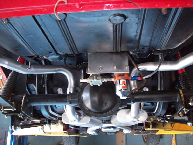 1972 Camaro Undercarriage