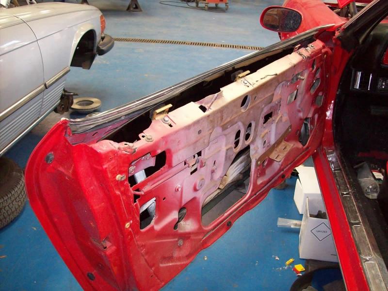 Camaro Door Panel Repair
