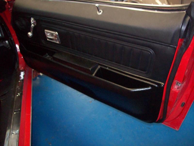 Camaro Door Panel Replacement