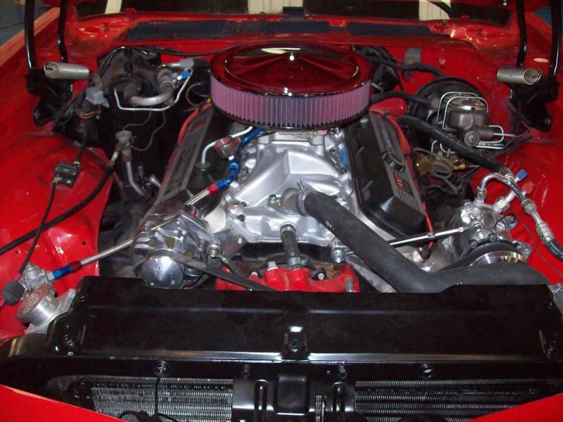 Camaro Engine Compartment