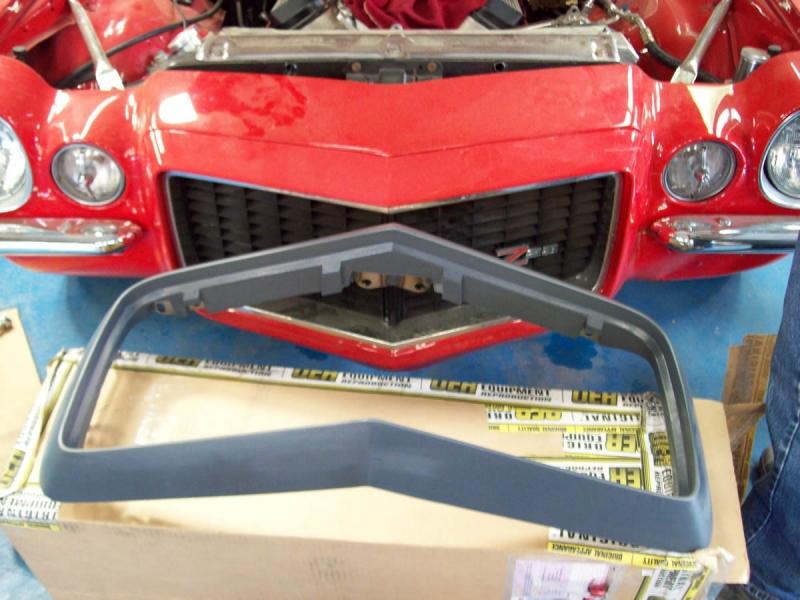 1972 Camaro Bumper Replacement