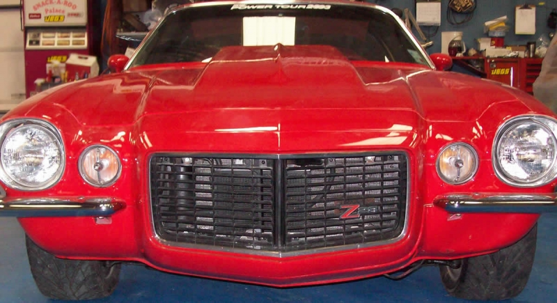 1972 Camaro Front Grille
