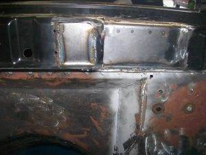 Engine Firewall Modification