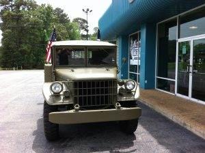 military restoration