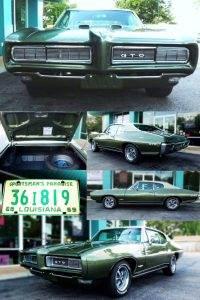 1968 Pontiac GTO Up for Auction