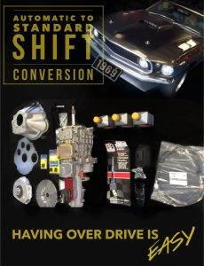 Automatic to Standard Shift Conversion.